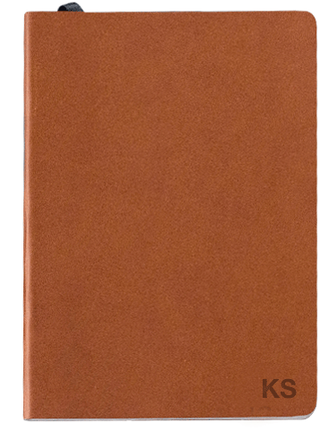 MALLE - Brown notebook