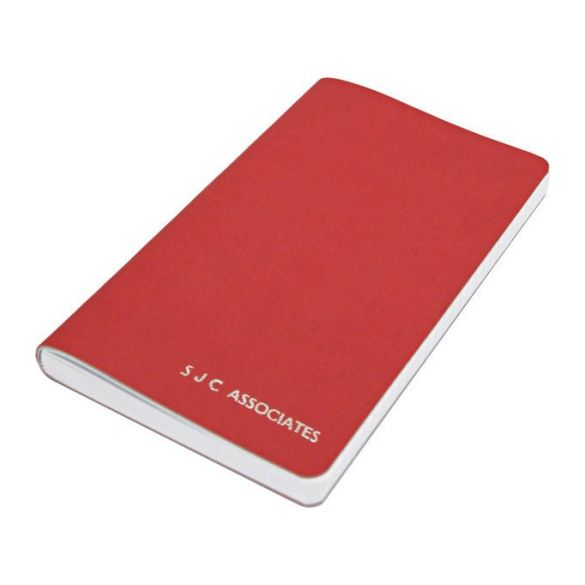 Red Personalised Softback Notebook