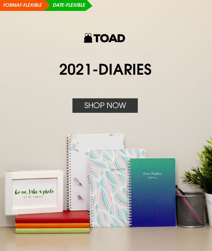 2021 Diaries | Design Based Covers