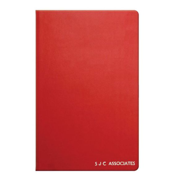 Red Personalised Notebook