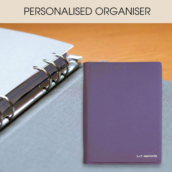Personal Organiser with Date-Flexible Diary and Notes Refills, fits filofax and all popular brands