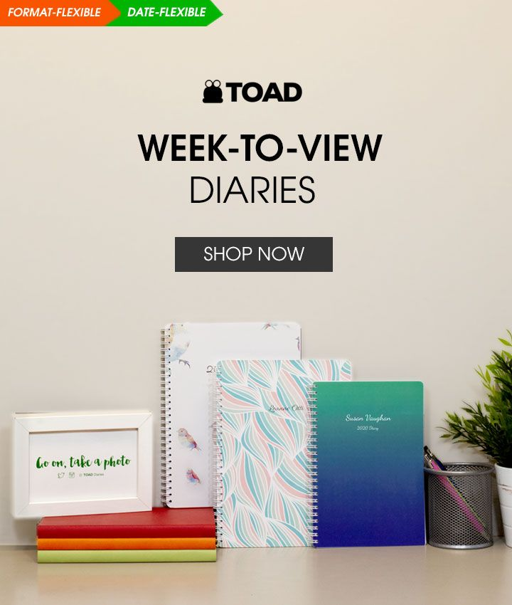 Week to View Diaries 2020-2021