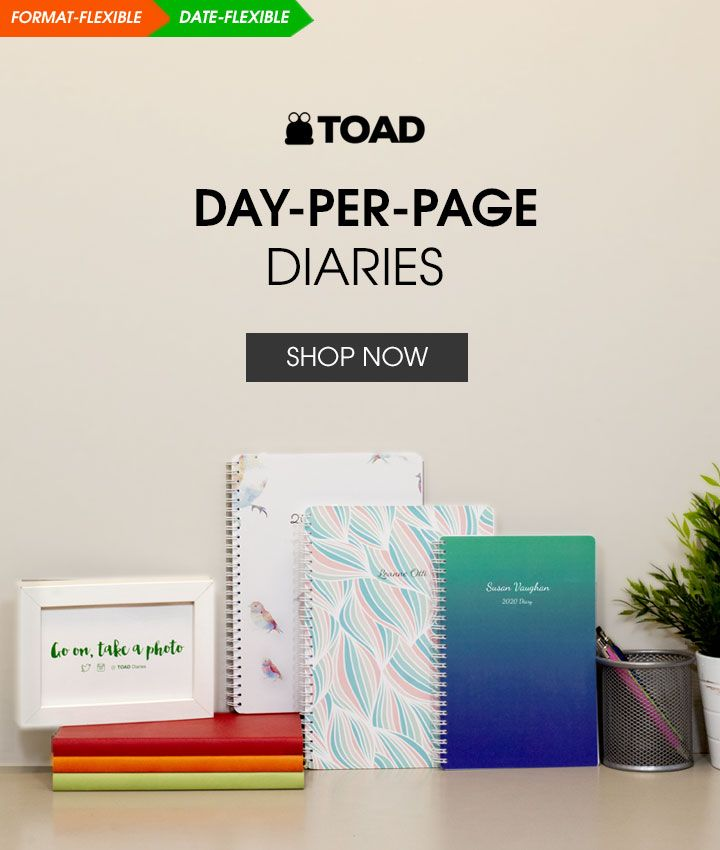 Day Per Page Diaries 2020-2021