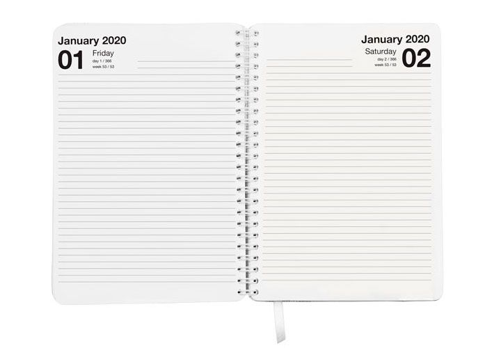 Day Per Page/ Page a Day Diary Formats