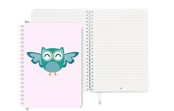 Cute Owls Notebook