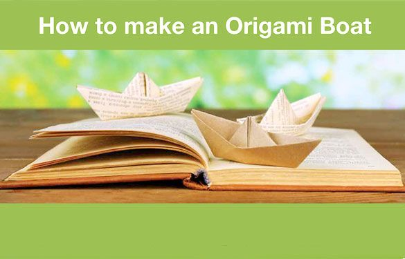 How to Make an Origami Boat