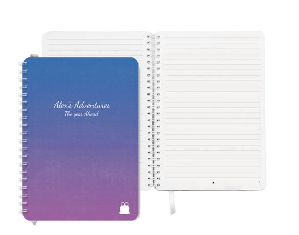 Pretty Dusk Cover Notebook