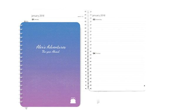 Pretty Dusk Cover Diary/Planner