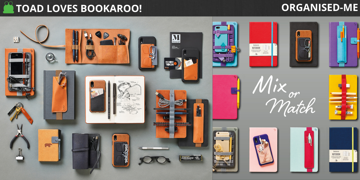 Bookaroo stationery and notebook accessories