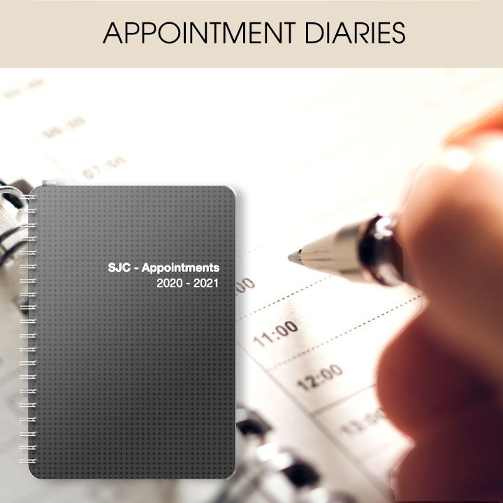Customised & Personalised Date-&-Time Flexible Appointment Diaries