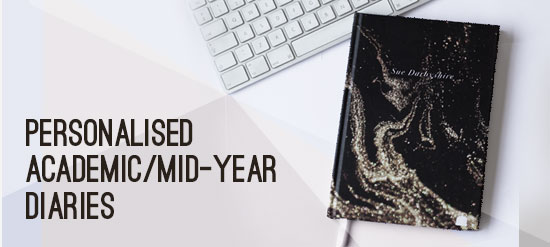 Custom Mid-year Academic Diaries