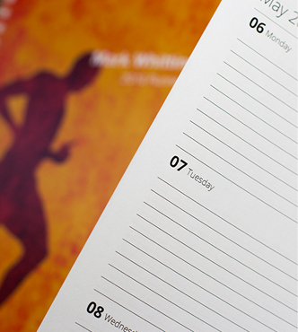 Start your Fitness diary any month
