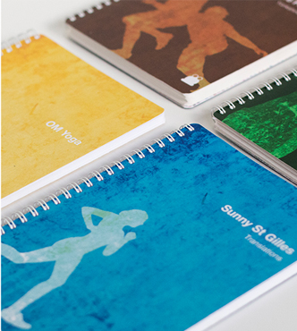 Customise your Training diary with your ideal cover