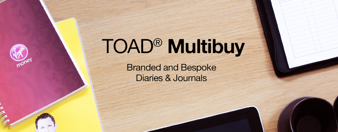 Business diaries and diary design. Cover branding and bespoke content