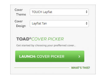 Personalise & customise your cover