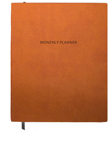 TOUCH Monthly Planner - TOUCH Tan