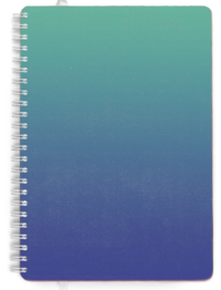 A4 - Day per Page - Sea Ombre Cover