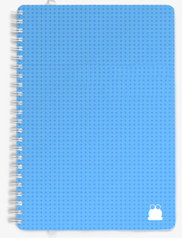 A4 Appointment Diary Aqua Cover