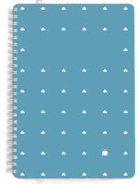 A5 Day per page Minimal Clouds Cover
