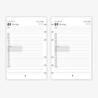 Standard Appointments - Day per page Refill (Pocket)