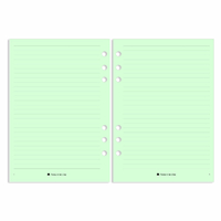 Personal - Lined Notes - Green