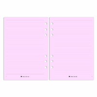 Personal - Lined Notes - Pink
