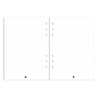 Pocket - Dots Notes - White
