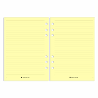 Pocket - Lined Notes - Yellow